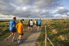 Running in the Dunes Stock Photos