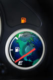 Running on empty Stock Image