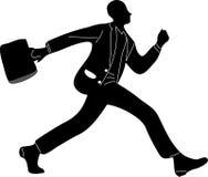 running för affärsman Arkivfoton