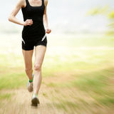 Running fast Royalty Free Stock Photos