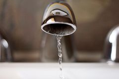 Running Faucet Royalty Free Stock Images
