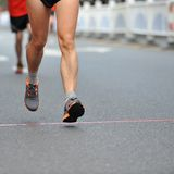 Running feet Royalty Free Stock Photo