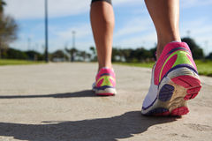 Running feet Royalty Free Stock Images