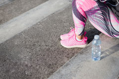 Running and fitness healthy lifestyle concept Royalty Free Stock Image