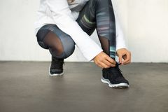 Running and fitness lifestyle concept Stock Photo