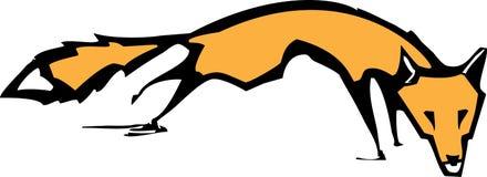 Running Fox vector illustration