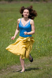Running girl Stock Images