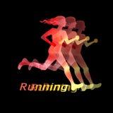 Running girl Stock Photos