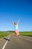 Running goals and success Stock Photo