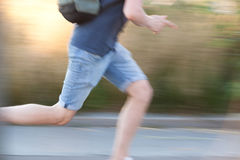 Running guy Stock Images