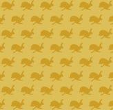 Running hare pattern Stock Photos