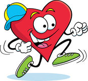 Running Heart Stock Images