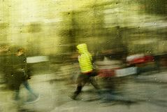 Running Home stock photography