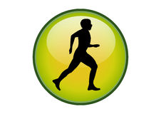 Running Icon Royalty Free Stock Images