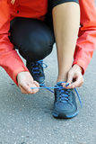 Running and jogging exercising concept Royalty Free Stock Photo