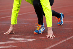 Running and jogging Royalty Free Stock Photography
