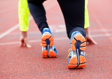 Running and jogging Royalty Free Stock Photo