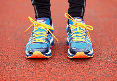 Running and jogging Royalty Free Stock Image