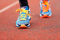 Running and jogging Royalty Free Stock Photos