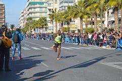 Running a Marathon Stock Images