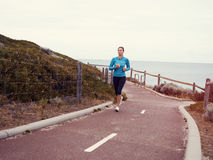 Running keeps me so alive Royalty Free Stock Image