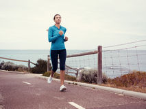 Running keeps me so alive Royalty Free Stock Images