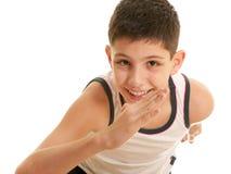 Running kid Royalty Free Stock Image