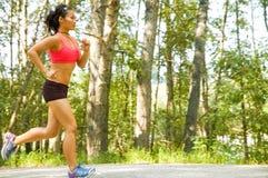 running kvinna Royaltyfria Foton