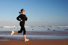 running kvinna Royaltyfria Bilder