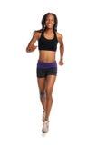 running kvinnabarn Arkivbild