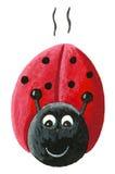 Running Ladybug Royalty Free Stock Photo