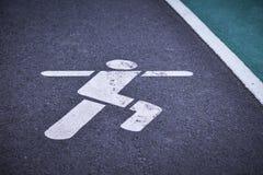 Running lane Royalty Free Stock Photo