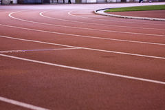 Running lanes Stock Photography