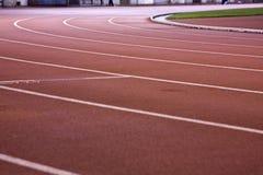 Running lanes Stock Photography