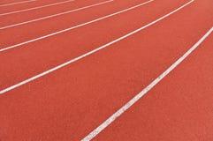 Running lanes stock photo