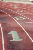 Running Lanes, 4 Royalty Free Stock Photos