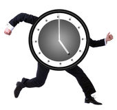 Running late? Stock Images