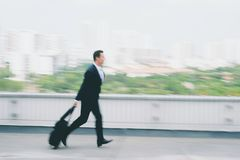 Running late for flight Royalty Free Stock Photos