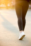Running legs Stock Image