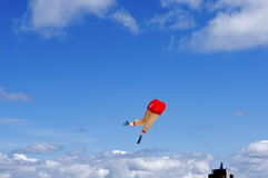 Kite of Running Legs  Royalty Free Stock Photography