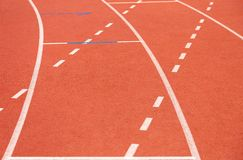 running Lignes athlétisme sport stade image libre de droits