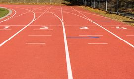 running Lignes stade athlétisme sport images libres de droits