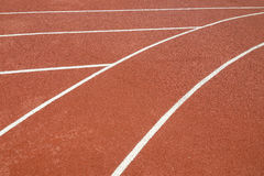 The running line track rubber lanes Stock Photo
