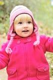 Running litet barn Fotografering för Bildbyråer