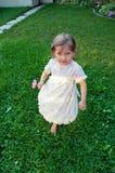 Running little girl Stock Photos