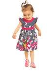 Running little girl Stock Photography