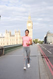 Running in london Royalty Free Stock Photography