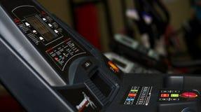 Running machine panel Royalty Free Stock Photography