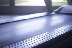 Running machine in sports health exercise club Stock Images
