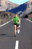 Running - male athlete running royalty free stock images